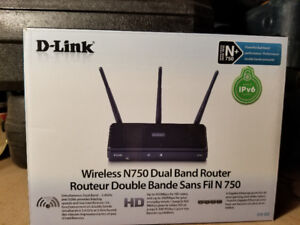 d-link wireless n750 router