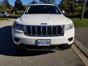 2012 Jeep Grand Cherokee Overland; Certified/Mint. READY TO GO!