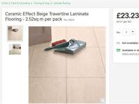 Homebase Laminate Flooring for bathrooms or kitchens