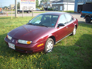 2002 Saturn  Plated &inspected $1899
