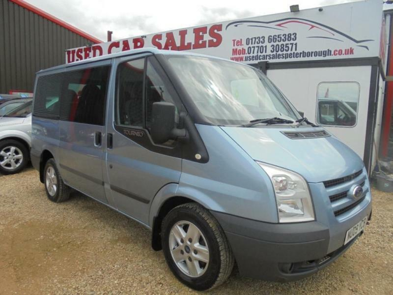 2009 09 FORD TRANSIT 2.2 280 LIMITED TOURNEO 8 STR 5D 115 BHP DIESEL
