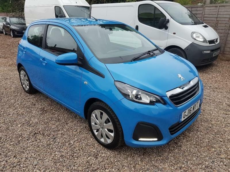 2016 peugeot 108 active finance available 1 in coventry. Black Bedroom Furniture Sets. Home Design Ideas