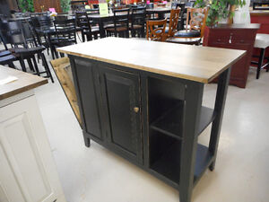 Island with Storage & Recycling Drawers London Ontario image 3