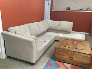 6 seater sectional with left side chaise lounge