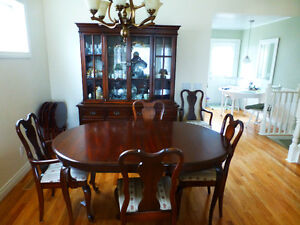 Gibbard Dining Room Set (solid mahogany) *Reduced for quick sale