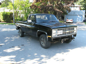 1985 frame swapped Chevy C10 LS swap