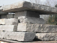 Armour Stone - LANDSCAPING - RETAINING WALL