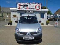 08 RENAULT KANGOO 1.1 AUTHENTIQUE 75 BHP DISABILITY ACCESS - 24232 MILES