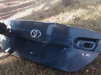 Camry trunk lid