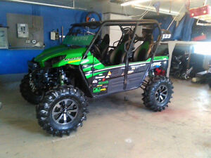 Super lifted 6 inch mud monster