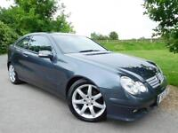 2007 Mercedes Benz C Class C220 CDI SE 3dr Auto FSH! Full Leather! 3 door Co...