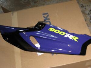 1993-1997 honda cbr-900rr l.s. rear tail fairing oem