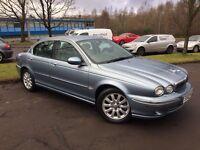 Jaguar X-Type 2.5I V6 SE (blue) 2002