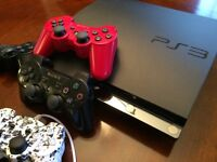 PS3 PLAYSTATION w/4 controllers