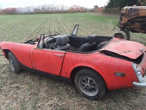 1972 / 73 MG Midget complete original parts car Windsor Region Ontario image 5