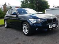 BMW 116 2.0TD d 5 door SE blue 2012 *6 months warranty*
