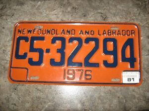 old truck plate