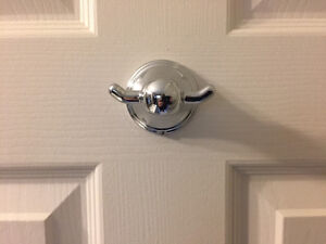 Toilet Paper and Robe Hook - matching - BURLINGTON