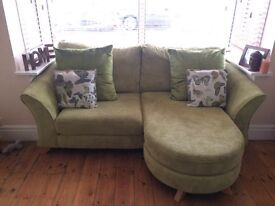 Complete sofa and chair set for sale