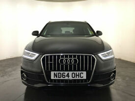 2015 AUDI Q3 SLINE + TDI QUATTRO 4WD 1 OWNER SERVICE HISTORY FINANCE PX WELCOME