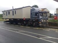 Caravan and mobile home transport
