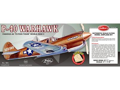 Balsa Wood Airplane Kits (Guillow's Balsa Wood Model Airplane Kit, WW II Curtis P-40 Warhawk )