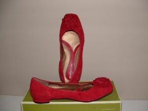 NEW Naturalizer Hillary Shoes Size 6.5 Color Red New in box