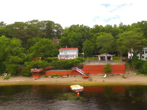 225 FT WATERFRONT HOME & (2) SEPARATE GARAGES/LOFT