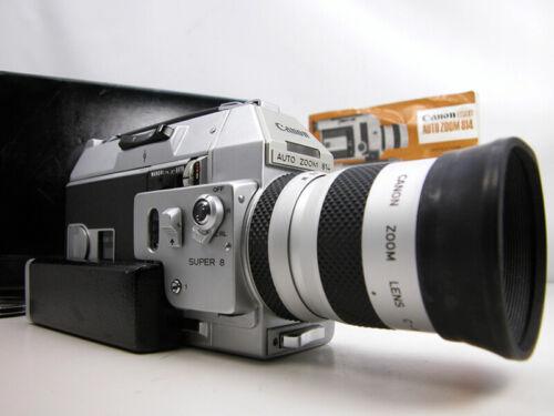Beautiful & Working Professional CANON 814 Super 8 MOVIE CAMERA W/Case & Inst