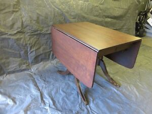Solid wooden table refinished London Ontario image 2