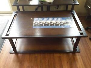 *** USED *** ASHLEY SHANKLIN COFFEE/END TABLES   S/N:51138861   #STORE219