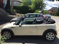 Mini Cooper convertible automatic 2008