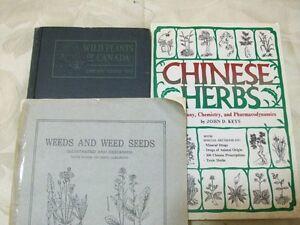 Plant/Botany/Herb Books