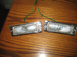 1948-53 Chevy Truck front marker lights