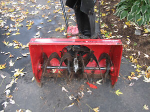 MTD snowblower auger and housing For PARTS
