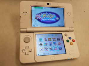 Nintendo new 3ds with lots of games and Mario carrying case