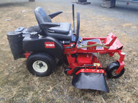 toro 334 z master zero turn mower