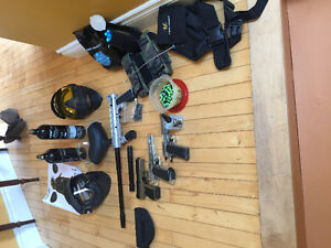 Paintball/airsoft and lots of extras