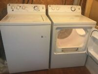 GE washer / dryer