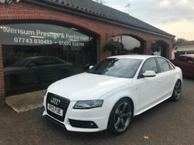 Audi A4 2.0TDI ( 136ps ) 2012MY Black Edition S Line