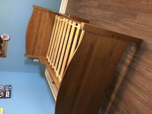 IKEA adjustable bed.