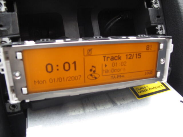 Peugeot 407 Citroen C5 Multifunction Display screen