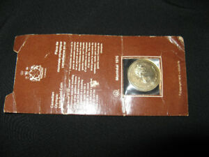 1976 Canadian Olympic Gold Coin