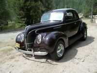 1939 FORD STANDARD COUPE (PRINCETON, B.C.)