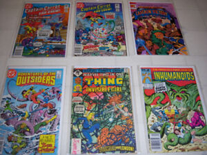 Comic books each lot $10  or all for $70  bagged & boarded