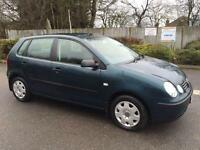 VW POLO 2003 1.4 S PETROL - MANUAL - FULL SERVICE HISTORY - 1 OWNER FROM NEW