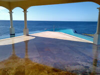 Ocean Front Villa in Curacao - 140 ft wrap around Infinity pool