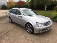 2004 Mercedes c270cdi auto 1 prev keepers just serviced amg alloys