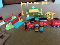 ELC train set and extra track