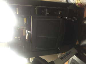 Kingsize  bed and boxspring  32 inch TV VCR treadmill for sale